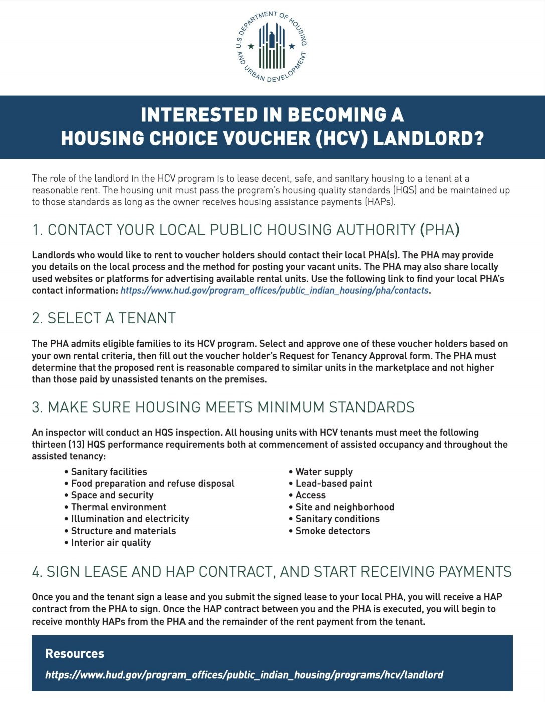 Interested in Becoming a HCV Landlord?